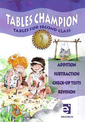 Cover of Tables Champion Tables 2nd Class - Donna Garvin - 9781908507242