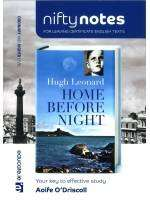 Cover of Nifty Notes: Home Before Night - Aoife O'Driscoll - 9781908507884