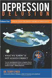Cover of DEPRESSION DELUSION: THE MYTH OF THE BRAIN CHEMICAL IMBALANCE: VOLUME 1 - Dr. Terry Lynch - 9781908561015