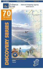 Cover of Discovery Series 70 Kerry 5th Edition - Ordnance Survey Ireland - 9781908852311