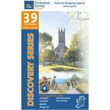 Cover of Discovery Series 39 Galway Mayo Roscommon - Ordnance Survey Ireland - 9781908852618