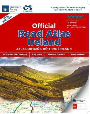 Cover of Official Road Atlas Ireland - 9781908852830