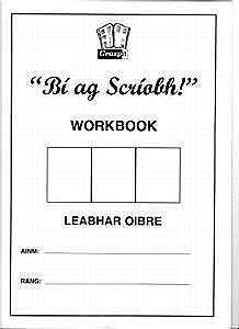 Cover of Bi Ag Scriobh Workbook for Glance Card - Graspit - 9781908962133
