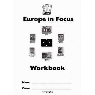 Cover of Europe In Focus Workbook - Graspit - 9781908962225