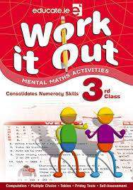 Cover of Work it Out 3rd Class - Tony Walsh - 9781909376144