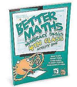 Cover of Better Maths 4th Class - Mcnee Ciara - 9781909376946