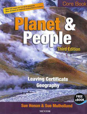 Cover of Planet & People Core Textbook 3rd Edition - Sue Honan & Sue Mulholland - 9781909417588