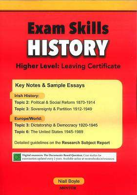 Cover of Exam Skills History Leaving Certificate - Niall Boyle - 9781909417731