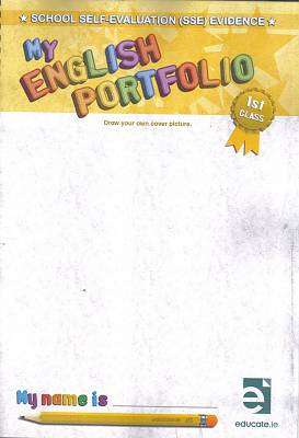 Cover of My English Portfolio 1st Class - Susan Mckeever - 9781910052129