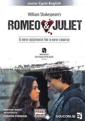 Cover of Romeo & Juliet Textbook & Portfolio - Catherine O'Donovan - 9781910052877