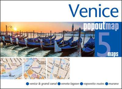 Cover of Venice Popout Map - PopOut Maps - 9781910218228