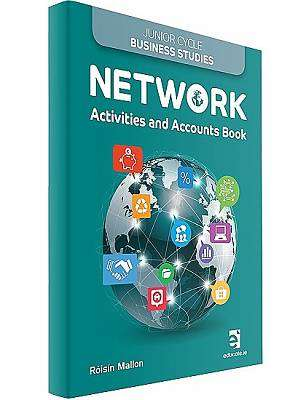 Cover of Network Activities & Accounts Book ONLY - Roisin Mallon - 9781910468586