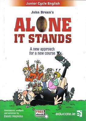 Cover of Alone It Stands & Portfolio - John Breen - 9781910468661