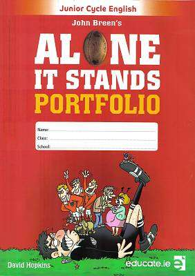 Cover of Alone It Stands PORTFOLIO ONLY - John Breen - 9781910468678
