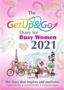 Cover of The Get Up and Go Diary for Busy Woman 2021 - Eileen Forrestal - 9781910921517