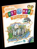 Cover of Just Maps 5th Class - Sue Synnott - 9781910936597