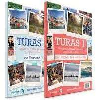 Cover of Turas 1 Portfolio/Activity Book (combined) ONLY - Risteard Mac Liam - 9781910936849