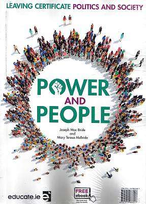 Cover of Power and People Text & Workbook Pack - Joseph Mac Bride & Mary Teresa McBride - 9781910936917