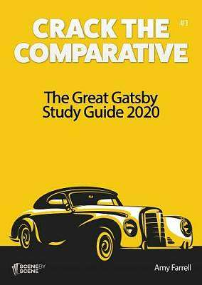 Cover of The Great Gatsby Study Guide 2020 - Amy Farrell - 9781910949788