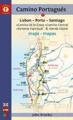 Cover of Camino Portugues Maps - John Brierley - 9781912216093
