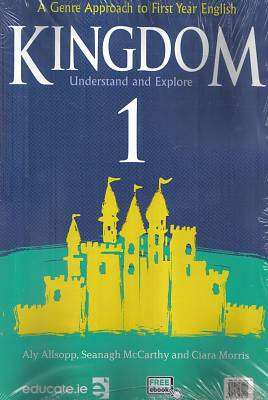 Cover of Kingdom 1 Textbook & Portfolio/Grammar Primer - Aly Allsop, Seanagh McCarthy & C Morris - 9781912239245