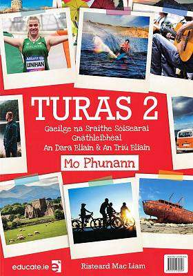 Cover of Turas 2 PORTFOLIO ONLY - Risteard Mac Liam - 9781912239306