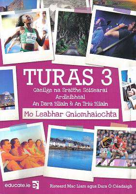 Cover of Turas 3 PORTFOLIO ONLY - Risteard Mac Liam - 9781912239337