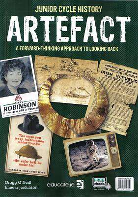 Cover of Artefact Textbook & Research Portfolio & Skills Book - Greg O'Neill & Eimear Jenkinson - 9781912239382