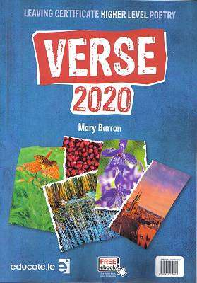 Cover of Verse 2020 Higher Level Textbook & Skills Book Pack - Mary Barron - 9781912239603