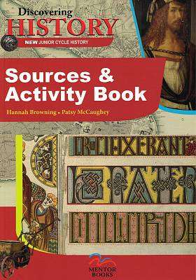 Cover of Discovering History Sources & Activity Book - Patsy McCaughey - 9781912514212