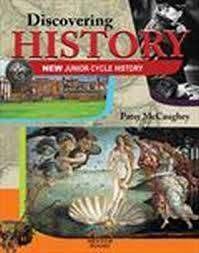 Cover of Discovering History - Textbook and workbook - Patsy McCaughey - 9781912514229