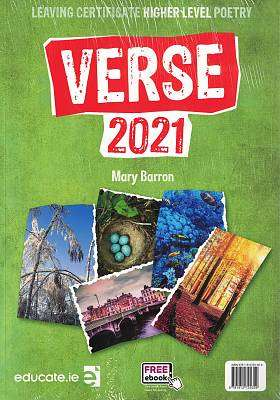 Cover of Verse Higher Level 2021 Textbook & Portfolio - Mary Barron - 9781912725359