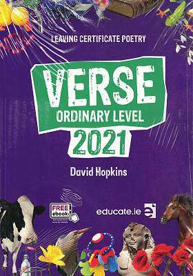 Cover of Verse Ordinary Level 2021 - David Hopkins - 9781912725373