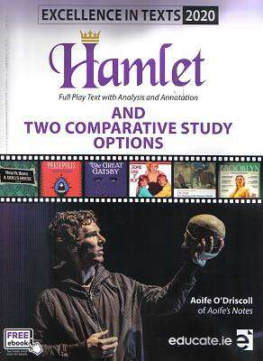 Cover of Excellence in Texts Higher Level Hamlet (2020) Aoife's Notes - Aoife O'Driscoll - 9781912725403