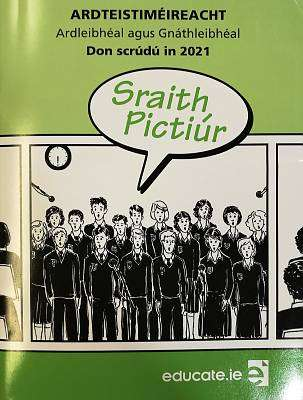 Cover of Educate Sraith Pictiur 2021 - 9781912725724