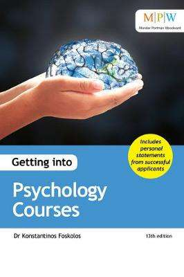 Cover of Getting into Psychology Courses - Dr Konstantinos Foskolos - 9781912943203