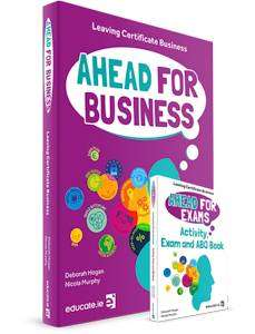 Cover of Ahead for Business Textbook & Ahead for Exams, Activity, Exam + ABQ Book - Educate.ie - 9781913228361