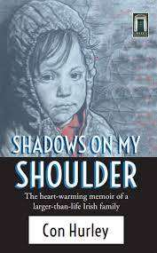 Cover of Shadows on my Shoulder - Con Hurley - 9781916065352