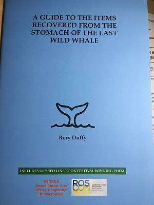 Cover of A Guide To The Items Recovered From The Stomach Of The Last Wild Whale - Rory Duffy - 9781916259324