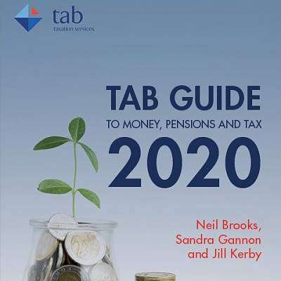 Cover of TAB Guide 2020 to Money, Pensions & Tax 2020 - Neil Brooks - 9781999937027