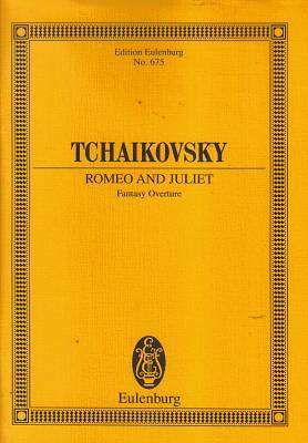 Cover of Tchaikovsky : Romeo and Juliet Fantasy Overture - Etp 675 - 9783795766641