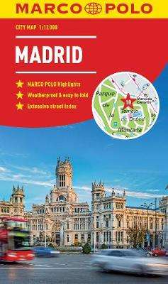 Cover of Madrid Marco Polo City Map - Marco Polo - 9783829759151