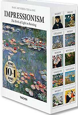 Cover of Basic Art Series: TEN in ONE. Impressionism - Taschen - 9783836576239