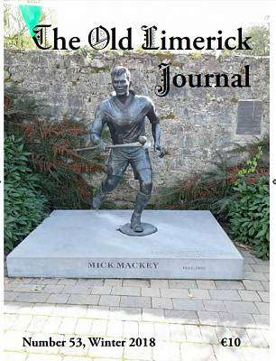 Cover of Old Limerick Journal Number 53 Winter 2018 - 9786100001079