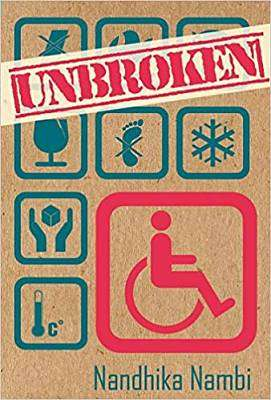 Cover of Unbroken - Nandhika Nambi - 9789383331819