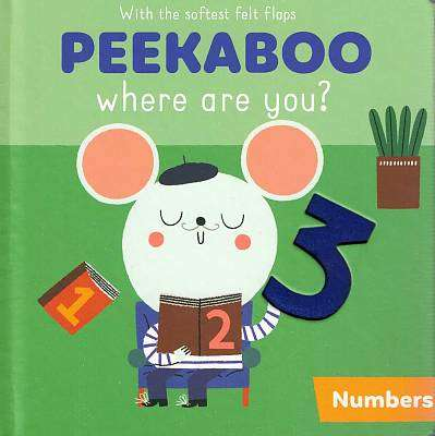 Cover of Peekaboo: Numbers - 9789463785495