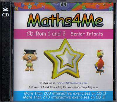 Cover of Maths4Me CD 1 and 2 Senior Infants - XP1065