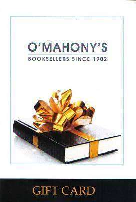 Cover of O'Mahony's Gift Card - XP1343