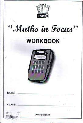Cover of Maths In Focus Workbook - Graspit - XP769