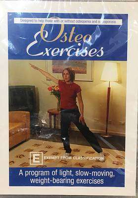 Cover of Osteo Exercise DVD - Rosemary Pierce - XP989